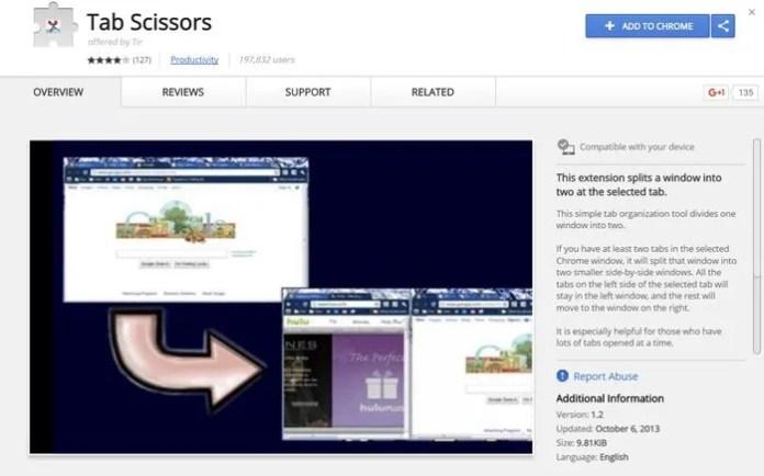 tab scissors