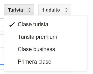 google-flights-opciones