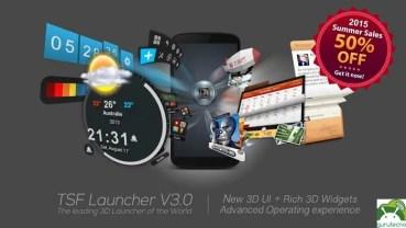 TSF Launcher 3D personaliza tu Android al máximo