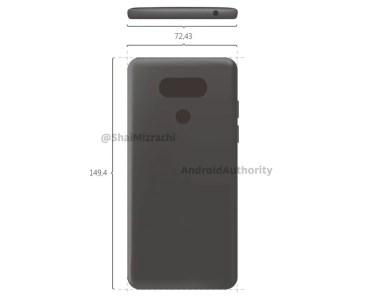 Se filtra en Android Autorithy el diseño del LG G6