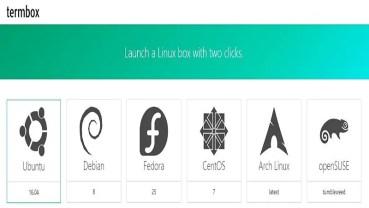 Cómo probar Linux en tu navegador sin instalar nada con Termbox