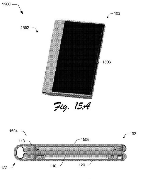 microsoft surface phone plegable