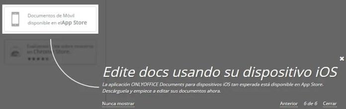 onlyoffice-edita con ios