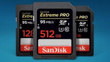 Tarjeta de memoria SanDisk Extreme PRO SDXC de 256 GB por 107,90 euros