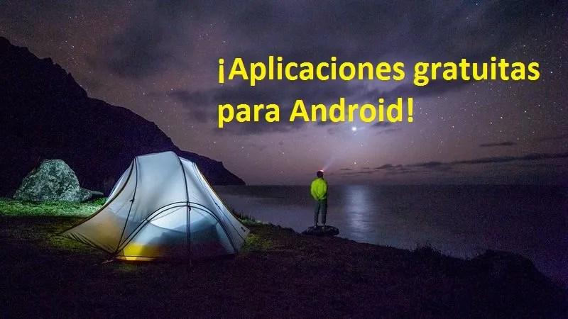 5 aplicaciones gratuitas para tu dispositivo Android ¡Por tiempo limitado!