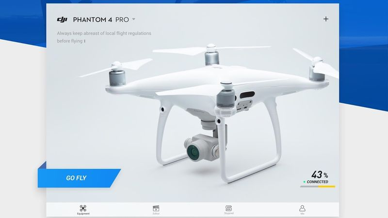 La actualización de DJI 4 GO ofrece una grabación inteligente de audio para los videos en caché, 'Find My Drone' y mucho más