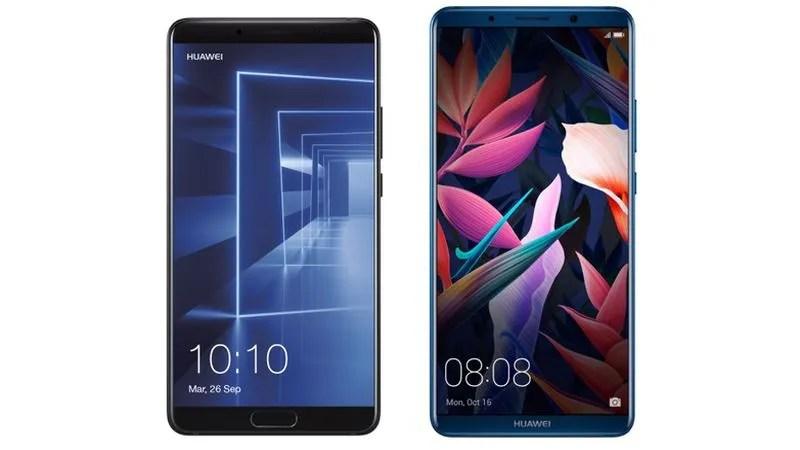 Conoce las versiones y precios de los Huawei Mate 10 y Mate 10 Pro