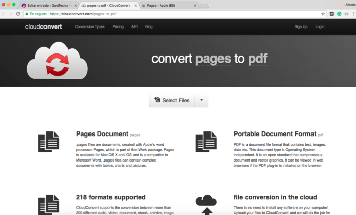 pages to pdf
