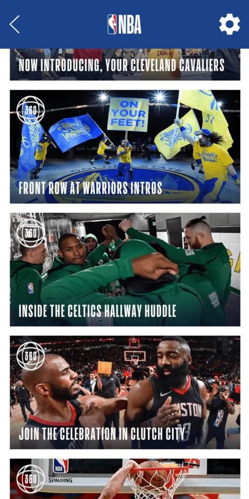 NBA AR