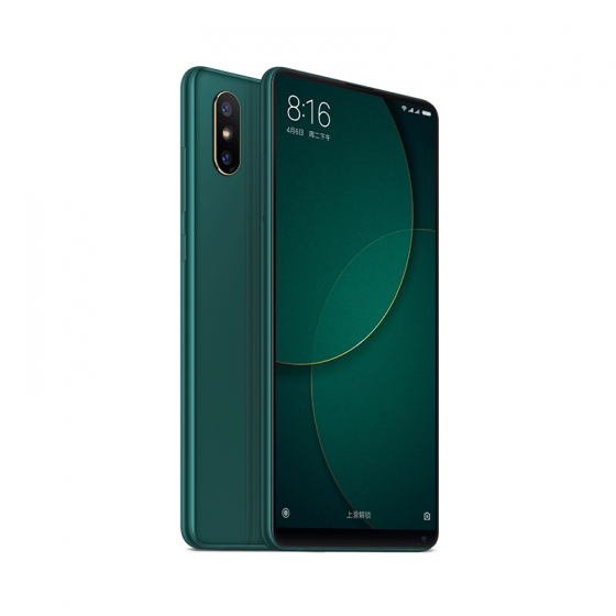 color verde esmeralda MI MIX 2S