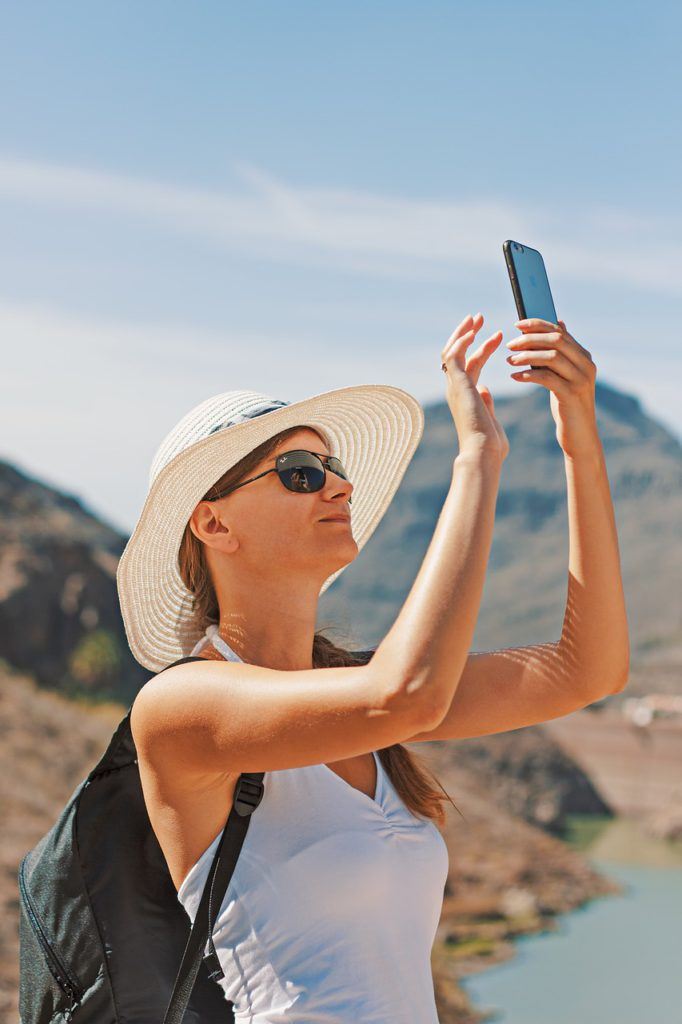 woman-selfie-gran canaria