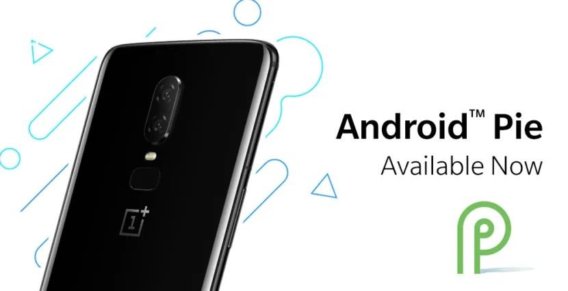 Android Pie OnePlus 6