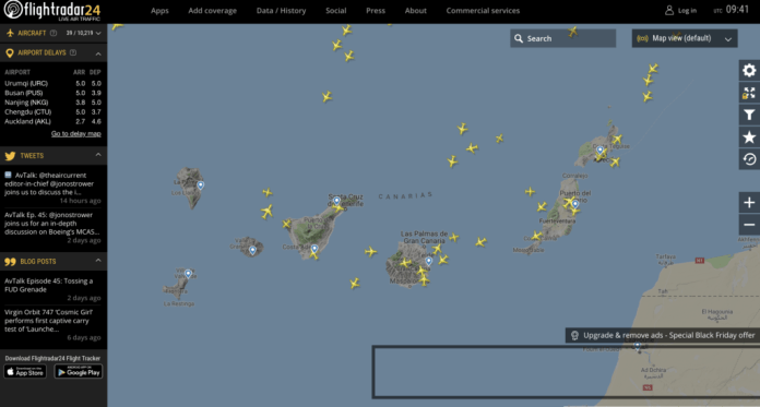 Black Friday Flightradar24