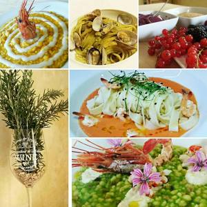 Una selezione di piatti preparati da Samantha