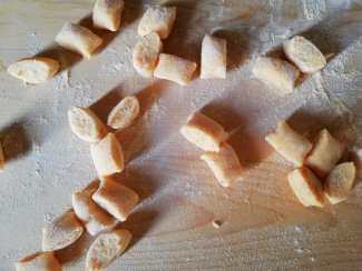 gnocchi di lenticchie rosse