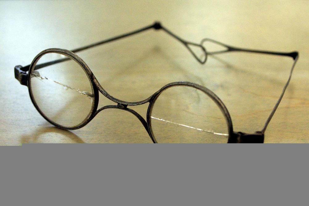 The glasses of Franz Schubert