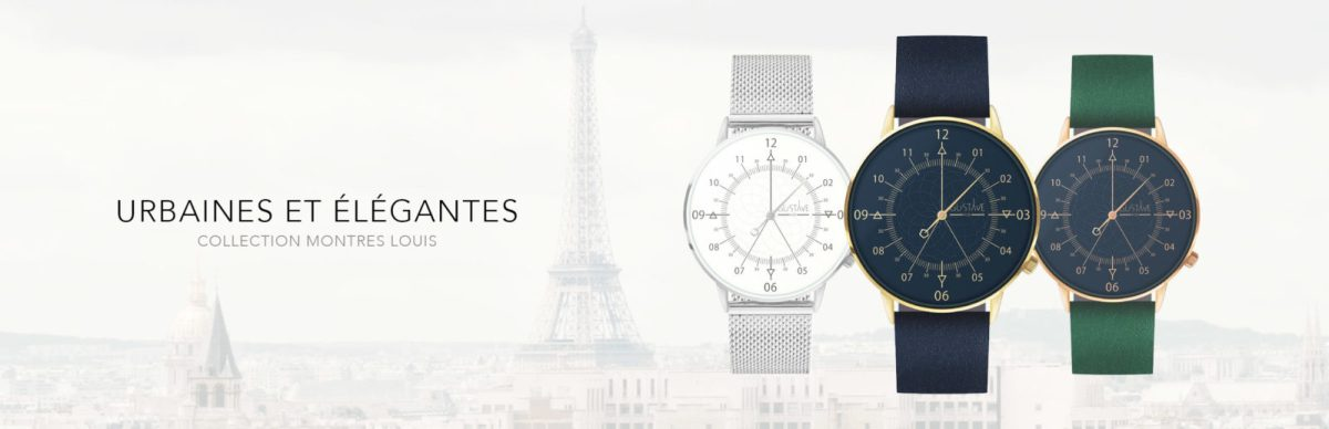 , GUSTAVE & cie – Montres et accessoires de mode Made in France, GUSTAVE & cie