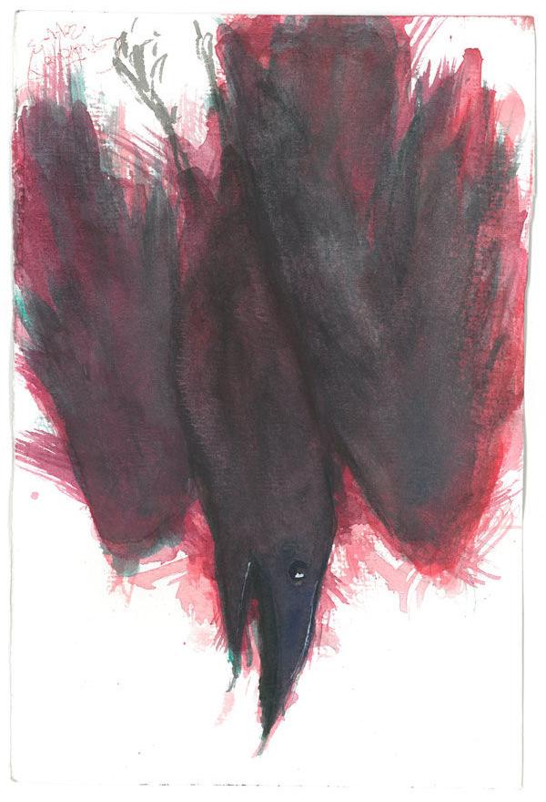 Dibujo: Palabras al Viento - 2 | por Gustavo A. Díaz G.