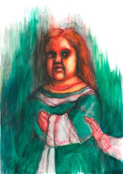 Ilustración: Menina. Museos.es (Nº 9-10) | por: Gustavo Adolfo Diaz G.