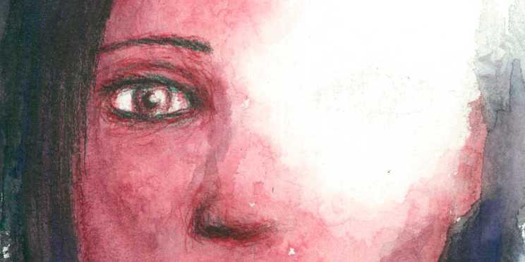 Dibujo: Ausencia 07 (detalle banner)