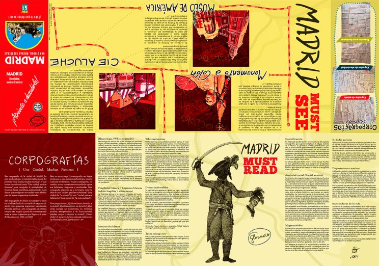 Información complementaria del mapa, la portada, el must see, el must read y la leyenda