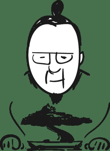 Una caricatura de mí mismo