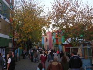 Caminito, calle turística del barrio de La Boca