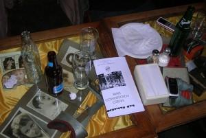 Mesas exhibidoras