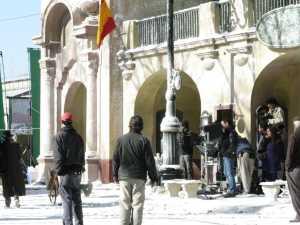 Filmacion en la vieja estacion de Avellaneda 11