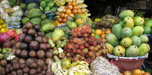 Fruit and Vegetable Market Bedugul 2