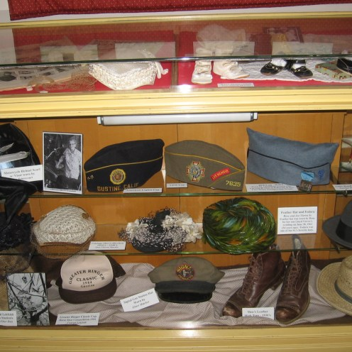 Assorted 40's and 50's Hats and Shoes