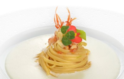 ricetta Linguine Leonessa chef Vincenzo ESPOSITO