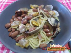 spaghetti vongole e fagioli, abbinamento sfizioso e gustoso