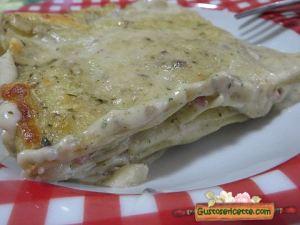 lasagna pesto e speck, primo piatto sfizioso e gustoso
