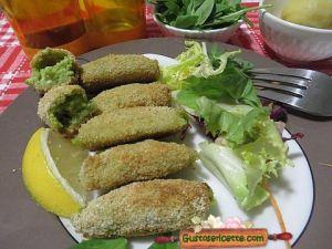 Crocchette patate spinaci noci macadamia