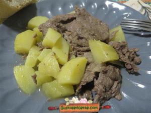 Straccetti gustosi alle patate
