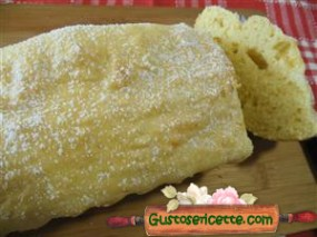 plumcake senza glutine e light