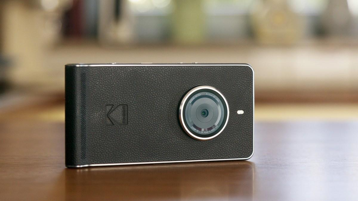 Kodak-Smartphone im Retro-Kamera-Look im Test
