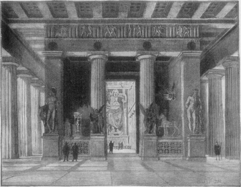 The Temple at Olympia.