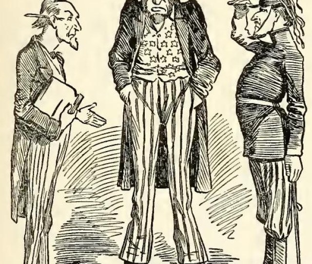 London Punch Caricatured President Lincoln In Every Possible Way Holding Him And The Union Cause Up To The Ridicule Of The World So Far As It Could