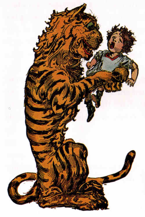 The Cowardly Lion and the Hungry Tiger