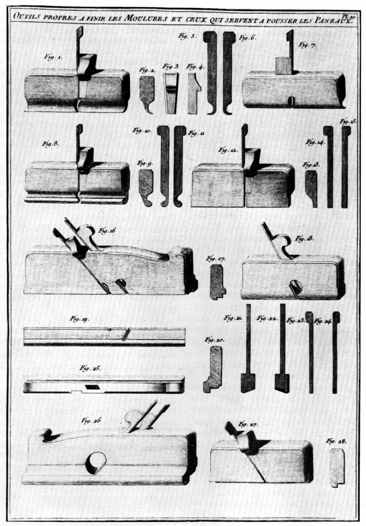 tools used in woodworking