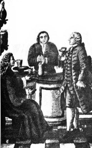 Nobility in an Early Venetian Caffè