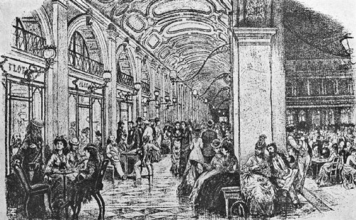 Florian's Famous Caffè in the Piazza di San Marco, Venice, Nineteenth Century