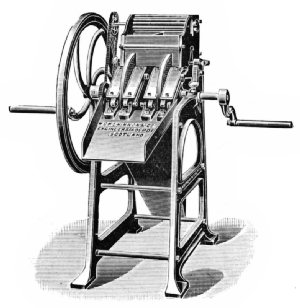 Hand-Power Double-Disk Pulper