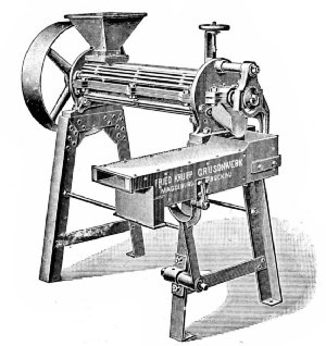 Krull Hulling Machine (German)