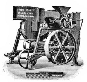 Anderson Hulling Machine (German)