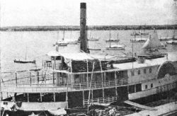 One of the lake and river steamers