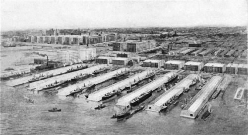 The Bush Terminal System of Docks and Warehouses
