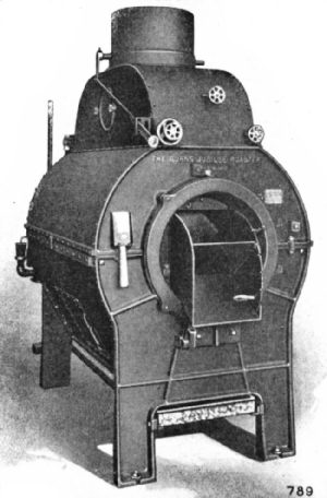 Burns Jubilee Gas Roaster